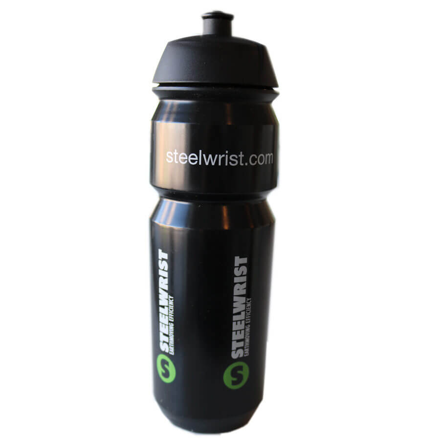 Waterbottle front Steelwrist